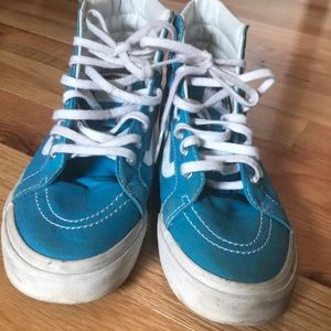 e97e4268bf Vans Shoes - BLUE AND PINK OMBRE VANS